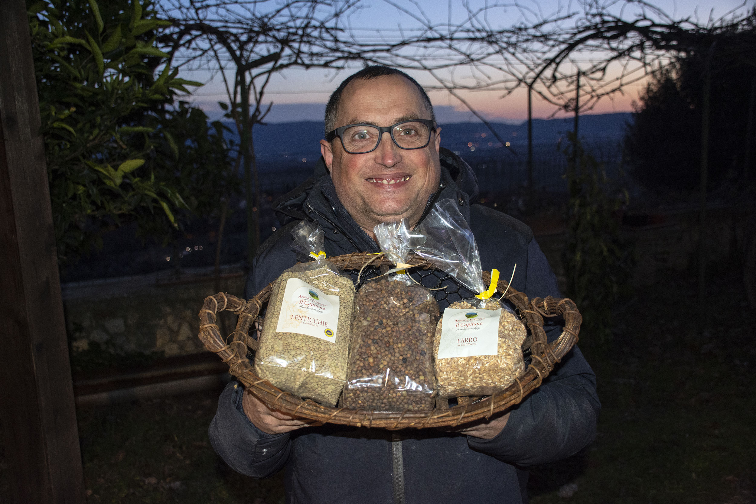agricola il capitano luigi brandimarte lenticchia igp castelluccio di norcia